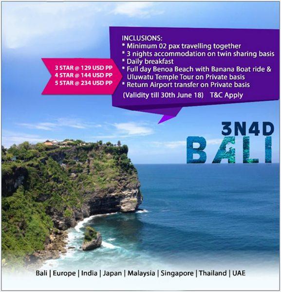 Khách sạn Orchid Global Ưu đãi giảm giá Beautiful Bali Đến ngày 30/6/2018