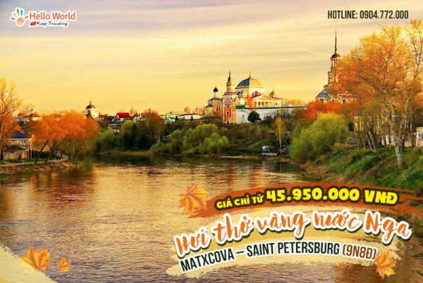 MATXCOVA–SAINT-PETERSBURG-9N8Đ